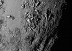 Young mountains on Pluto
